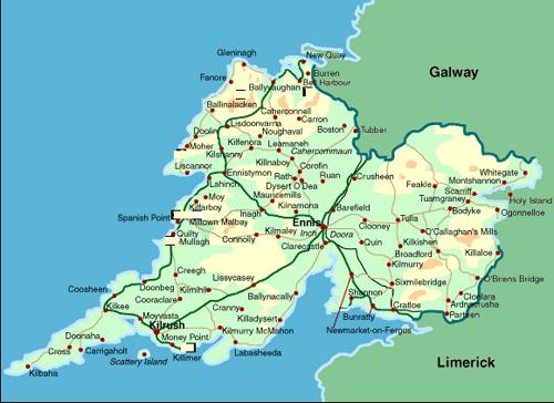 Map Of Ireland Doolin.Paddy Murphy Pioneer Of The Irish Concertina